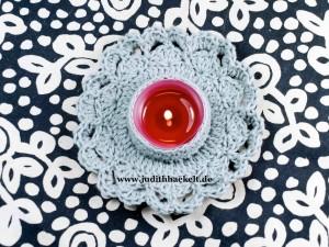 www.judithhaekelt.de - Teelichthalter