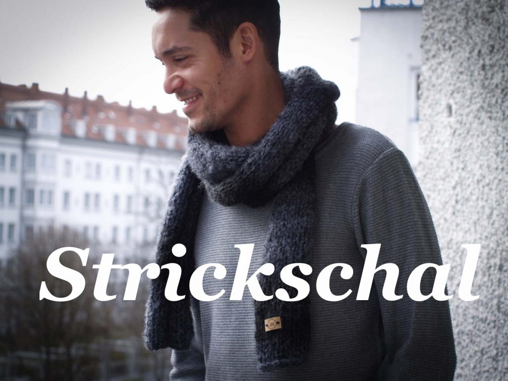Strickschal