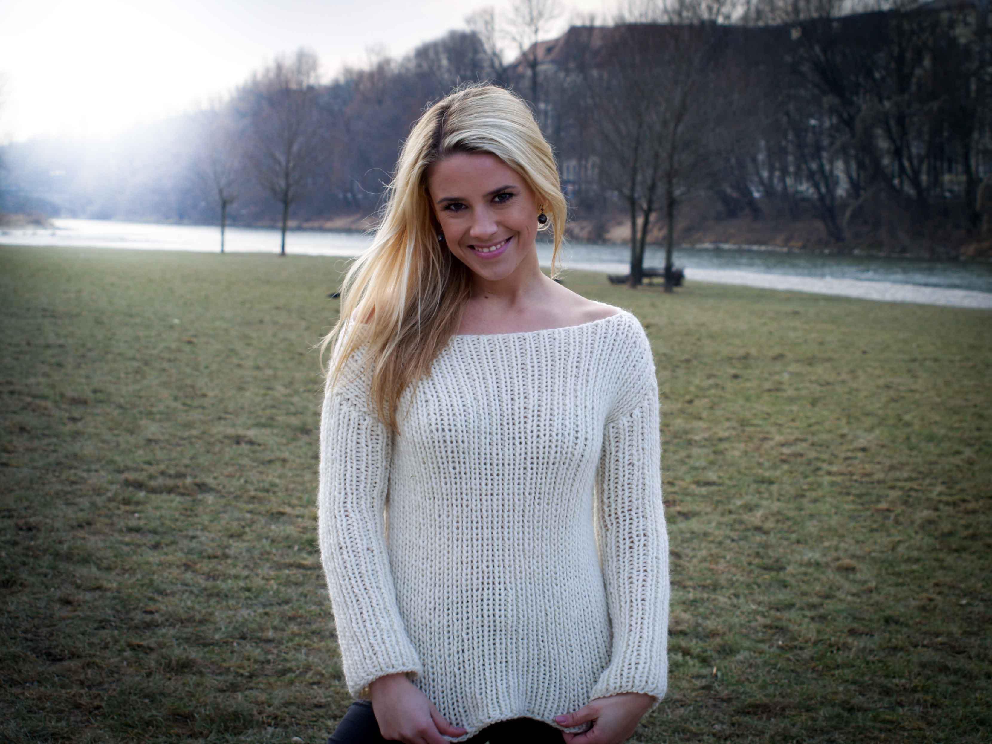We are knitters – Buttercream Sweater – Das Ergebnis – judithhaekelt.de
